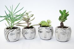 ceramic heads | by kaye blegvad