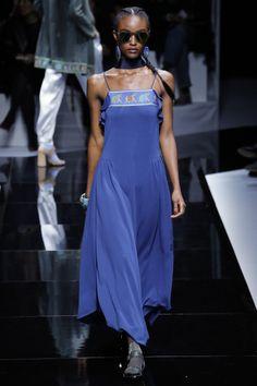 Emporio Armani | Paris Fashion Week | Spring 2017 Model: Alicia Burke