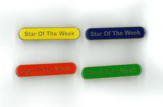 Enamel Bar Pin Badge - Star of the Week – London Emblem