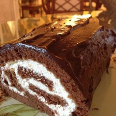 Spice Up your Life: Gluten Free Chocolate Cake Roll or Hoho Cake Recipe with Glutino Gluten Free Flour!