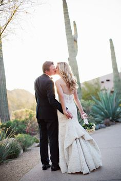 Arizona Desert Wedding at the Four Seasons at Troon North Read more - http://www.stylemepretty.com/arizona-weddings/scottsdale/2014/01/28/arizona-desert-wedding-at-the-four-seasons-at-troon-north/