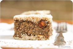 greek nut, seed and dried fruit cake, vegan