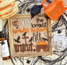 Felt Creative Home Goods®❦Brit (@feltcreativehome) • Instagram photos and videos Halloween Displays, Late Nights, Creative Home, Home Goods, Felt, Photo And Video, Letter, Boards, Instagram