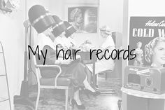 """My hair records   I always laugh really hard when I hear the words """"hair records"""" because it sounds like someone has some sort of file with all the hairstyles you've ever had. I've seen a lot of these posts over the time that I've been reading and following blogs and I really like them. There's no shame in showing how stupid you were when it comes to bad decision making on the hair department.  I started thinking about it again when I sitting at the hairdresser a few weeks ago Isabelle who…"""