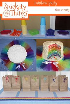 Rainbow party; stupid reason, but who lets people my age have rainbow themed parties......