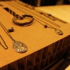 whitevalentine.it Shop Windows, Washer Necklace, Jewelry, Jewlery, Jewerly, Store Windows, Schmuck, Jewels, Jewelery