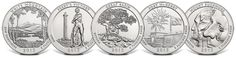 Coins  in 2013 as part of the series are:  New Hampshire – 2013 White Mountain National Forest Silver Bullion Coin Ohio – 2013 Perry's Victory and International Peace Memorial Silver Bullion Coin Nevada – 2013 Great Basin National Park Silver Bullion Coin Maryland – 2013 Fort McHenry National Monument and Historic Shrine Silver Bullion Coin South Dakota – 2013 Mount Rushmore National Memorial Silver Bullion Coin