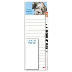 Shopping Pad - Max Dog