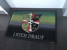 Union Stroheim - Fußmatte #fussmatte #doormat #matmaker #Fußball Graphics, Pictures, Ideas