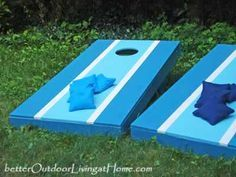 How to Build a Cornhole Toss Game - yes, please!