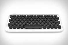 Mechanical switches. Round keycaps. Everything about the Lofree Keyboard reminds you of a classic typewriter. Except the connection. Able to pair with up to three devices simultaneously, it's perfect for use with your computer, tablet, or phone, has three backlight...