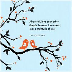 1 Peter 4:8 NIV