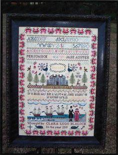 The Stitching Parlor - Persuasion - Cross Stitch Pattern