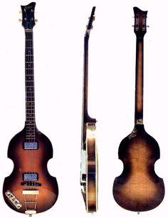 Paul McCartney's Hofner Bass (one of them)