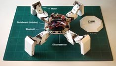 Meet ZURI (a.k.a Paper Robot), a programmable modular robot that is made from paper and grey cardboard. The robot is currently in its prototype stage and can be assembled in just a matter of minutes using household tools.