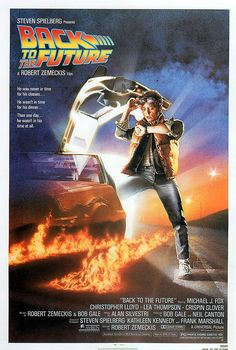 £2.5 GBP - Back To The Future (Michael J Fox) A4 Mini Film Poster Print 01 #ebay #Collectibles