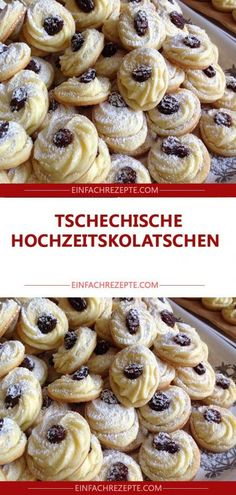 Tschechische Hochzeitskolatschen 😍 😍 😍 for chocolate chips for chocolate chips and peanut butter for chocolate chips cookies Cookie Recipes From Scratch, Easy Christmas Cookie Recipes, Healthy Cookie Recipes, Oatmeal Cookie Recipes, Easy Cheesecake Recipes, Peanut Butter Cookie Recipe, Sugar Cookies Recipe, Banana Bread Recipes, Christmas Cookies