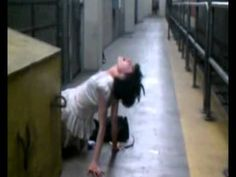 possessed girl found in subway kind of funny yet frightening! NYC is wild all kinds of people different walks of life and lifestyles, Demons,Last days and Times