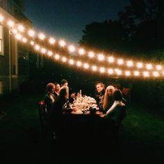 .@Stoffer Photography | Slow dinner outside tonight. #vscocam