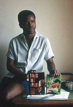 Novelist Chinua Achebe, Enugu, Nigeria, Eliot Elisofon, 1959.