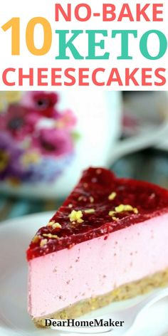 try these 10 creamy and yummy sugar-free no-bake Cheesecake that are keto friendly and helps in weight loss. try these 10 creamy and yummy sugar-free no-bake Cheesecake that are keto friendly and helps in weight loss. Keto Desserts, Desserts Sains, Keto Friendly Desserts, Sugar Free Desserts, Sugar Free Recipes, Keto Snacks, Low Carb Recipes, Meal Recipes, Diabetic Friendly