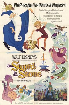 From Snow White and the Seven Dwarfs to Frozen, see every Walt Disney Animation theatrical poster. Posters Disney Vintage, Retro Disney, Disney Movie Posters, Vintage Films, Classic Movie Posters, Disney Love, Disney Magic, Vintage Disney Art, Vogue Vintage