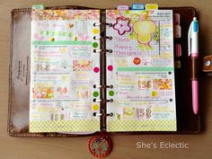 She's Eclectic: My week in my filofax #9