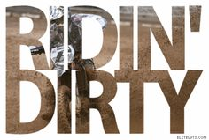 Whether it's a pedal bike, dirt bike, harley or sport bike at some point they're all ridin' dirty! Country Strong, Country Boys, Country Life, Country Style, Country Music, My Style, Everything Country, Country Bumpkin, Dirtbikes