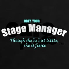Stage Manager + Shakespeare = Dangerous this the perfect description of me! Theatre Jokes, Drama Theatre, Theatre Problems, Theatre Stage, Theatre Nerds, Music Theater, Broadway Theatre, Theater Quotes, Musicals Broadway