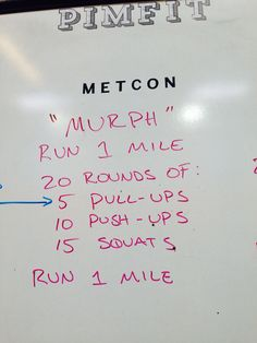 memorial day murph excelsior results