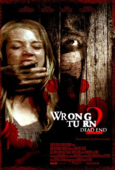 Wrong Turn 2 Dead End 2007 Full Movie Plot :Reality show contestant Kimberly is driving through the West Virginia back country searching for the location of her next project. While driving, she accidentally hits a teenager. She stops to check on him, but the teenager is revealed to be... Download From Here : http://worldfree4u.cool/2017/03/15/wrong-turn-2-dead-end-unrated-720p-english-bluray-diect-links/