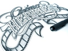 Ridiculously awesome hand lettering by Marin Schmetzer