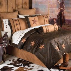 My bedding set. I got it from Rod's Western Palace and I love it!!!!