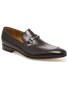 GUCCI Men's Leather Horsebit Loafer