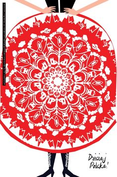 Plakat Moniki Prus - wymiary: 66,6 x 100 cm - cena: 15 zł / A poster by Monika Prus - size: 66,6 x 100 cm - price: 15 zł