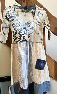 Size medium shabby chic style Upcycled recycled one of a Cut Up Shirts, Tie Dye Shirts, Rustic Outfits, Chic Outfits, One Direction Shirts, Recycled Clothing, Upcycled Shirts, Women's Clothing, Diy Clothes