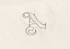 Tung Lam Truong Vo, a designer working from Ho Chi Minh city,… Typography Sketch, Typography Love, Typographic Design, Typography Inspiration, Typography Letters, Graphic Design Typography, Lettering Design, Logo Design, Design Inspiration