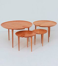 Coffee tables I love from Gallery NineWorld premier of new work and collaboration by Chris Lehrecke and Gabriella Kiss