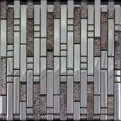 Glass Mosaic Tiles Crystal Interlocking Tile Bathroom Wall Strip Stickers Kitchen Backsplash Silver Plated Glass SB02