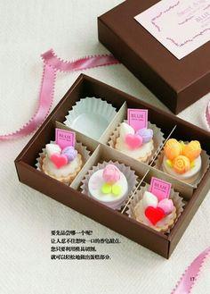 Mini Carved Cake Soaps