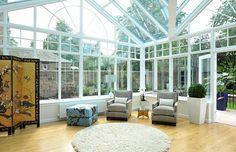 Minimalist interior design Minimalist Interior, Conservatory, Interior Design, Gallery, Outdoor, Bay Windows, Nest Design, Outdoors, Home Interior Design