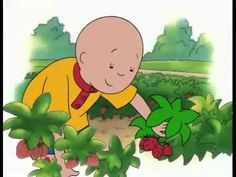 Caillou - Caillou Goes Strawberry Picking (Full). #kidsvideos @mad4clips