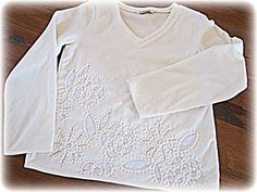 twobutterflies: The Embellished Five - Round II Tutorial using stencils, which I have!