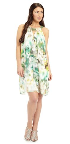 Heather Frill Front Short Dress