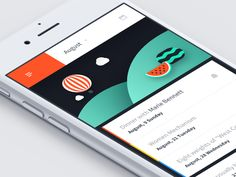 Simple and clean UI and some custom illustrations for a scheduling app.   -  Our Marketplace | IG | FB | TW