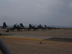 F5s on the ramp at KIWA