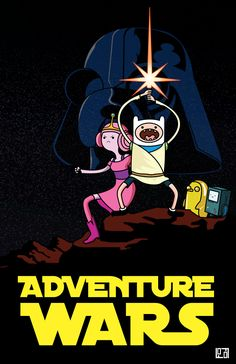 Adventure Time / Star Wars mashup @Benjamin Shewan