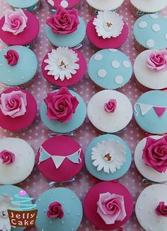 Cathy Kidston cupcakes
