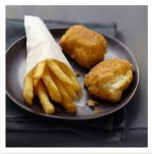 Ile de France Goat Cheese and fish Croquettes