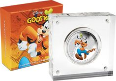 2014 #Disney #Mickey & Friends #Goofy 1oz #Silver Proof #Coin. Goofy is a comical cartoon character created by Disney in the 1932 film Mickey's Revue.